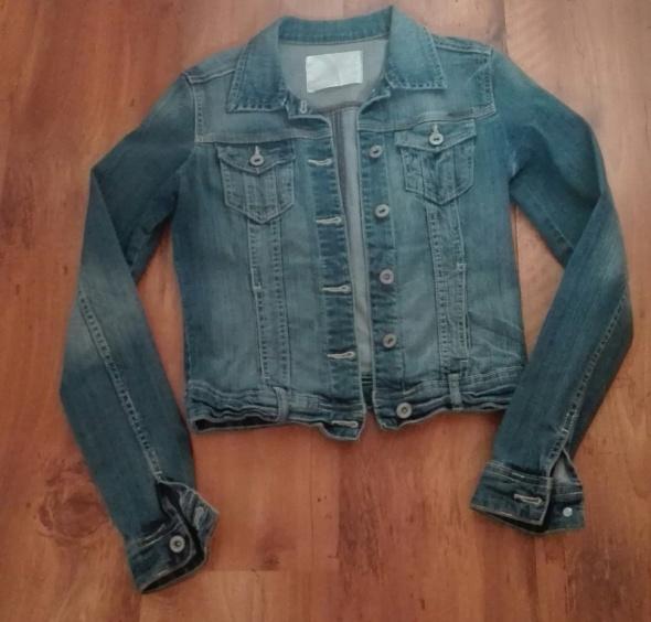 kurtka jeansowa cropp xs