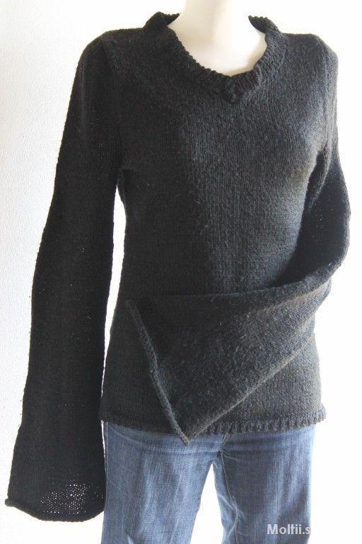 ciepły czarny sweterek