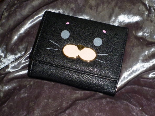 portfel kotek portmonetka nieduży