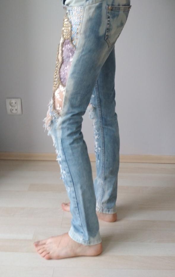 Rurki jeans...