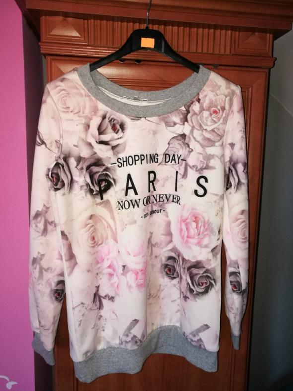 Bluza w kwiaty s m