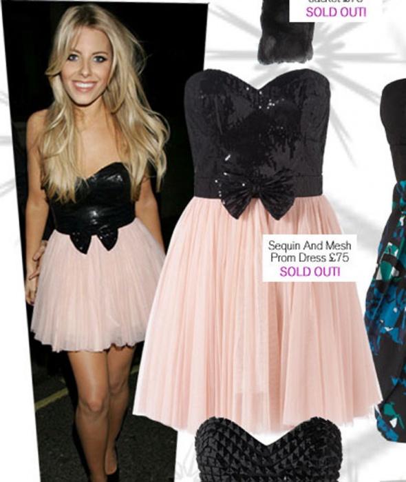 Sukienka LIPSY ASOS UK10 kokarda 38...