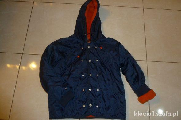 pikowana kurtka na polarze 152