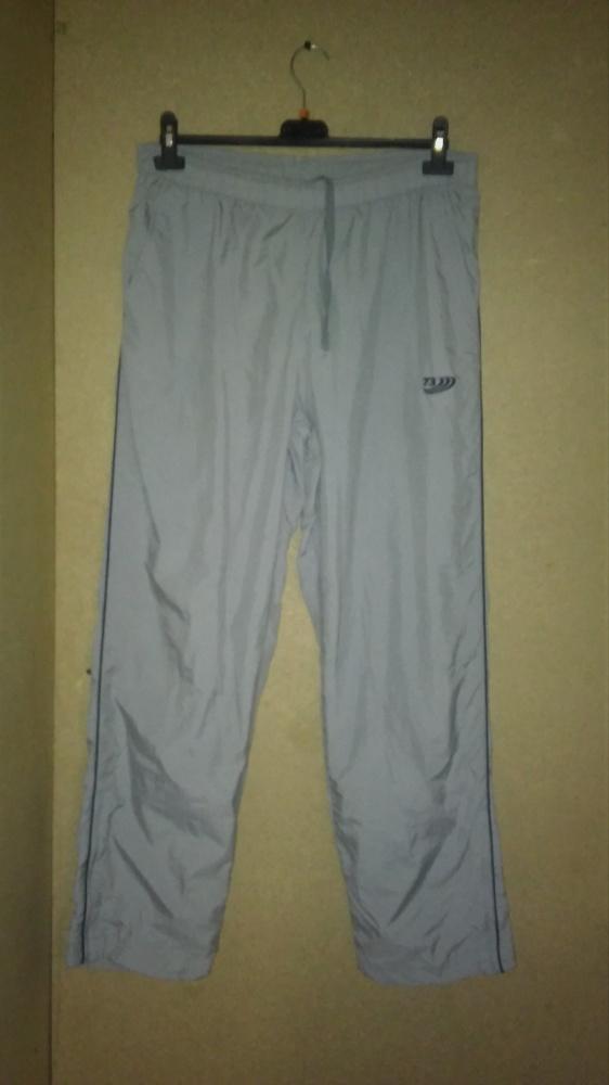 Szare spodnie sportowe dresowe 44 46