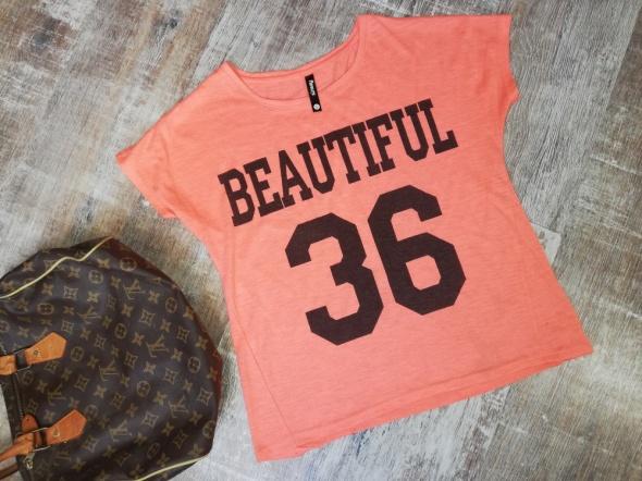 Blogerska bluzka s neon sinsay