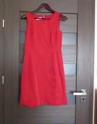Czerwona elegancja sukienka stan idealny
