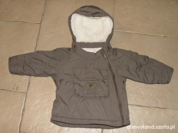 HiM na polarze i z kożuszkiem 68 74 cm