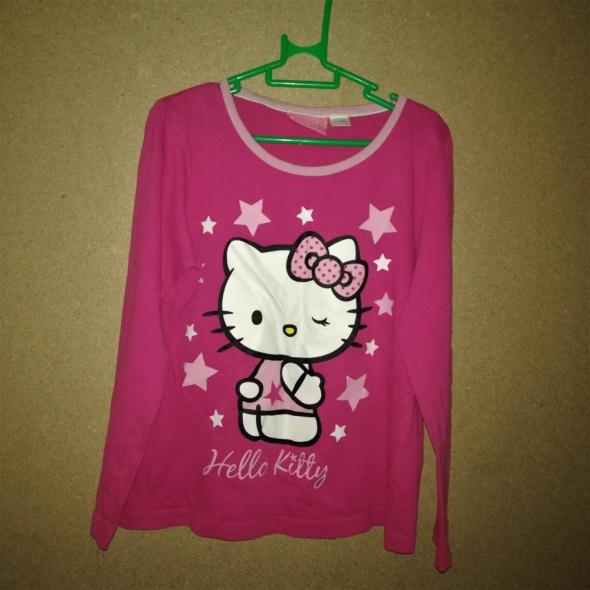 Hello Kitty Różowa bluzka od piżamy 122 128 cm 6 8 lat