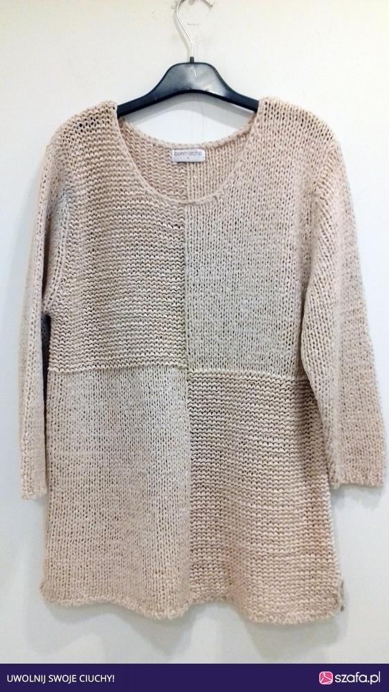 różowy sweter Bonmarche S M