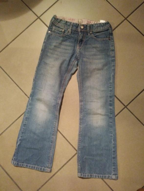 spodnie dżinsy 128 H&M Hello Kitty...