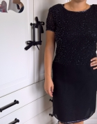 sukienka czarna XL...