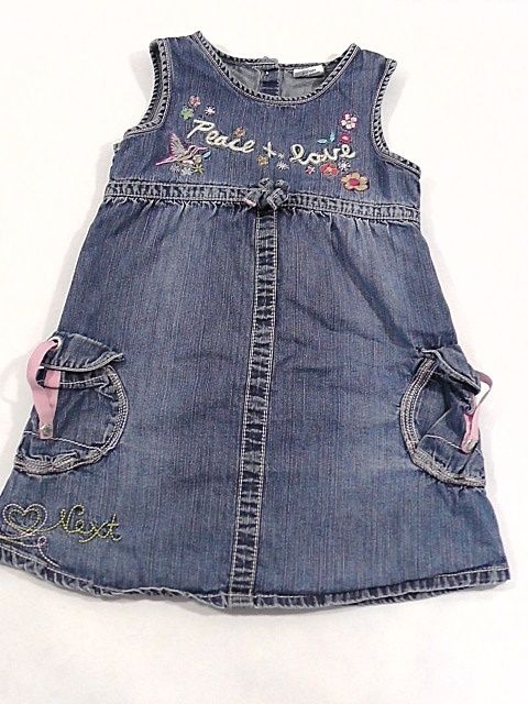 Next sukienka tunika dzinsowa dziewczeca 4 lata 104 cm