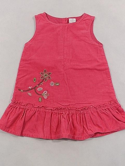 sukienka tunika dziewczeca ze sztruksu 18 mcy