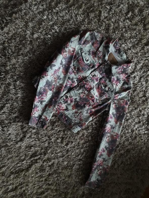 Kurtka jeansowa New Yorker Nowa 36 floral...