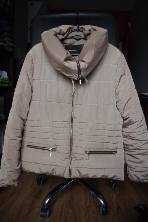 Złota beżowa kurtka Reserved 44