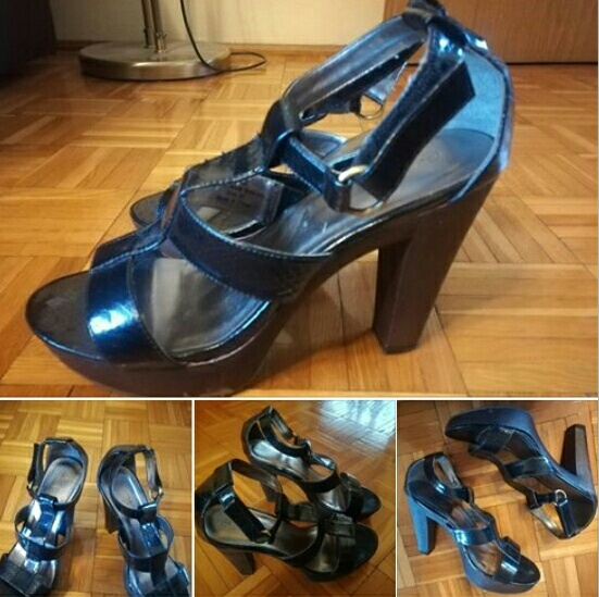 Sandały New Look motyw wezowy rozmiar 39