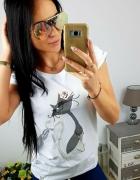 Bluzeczka kotek róża Fashion...