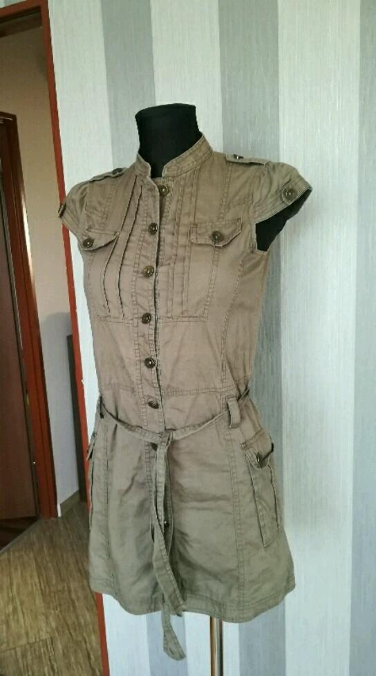 Sukienka szmizjerka khaki 34 xs Częstochowa