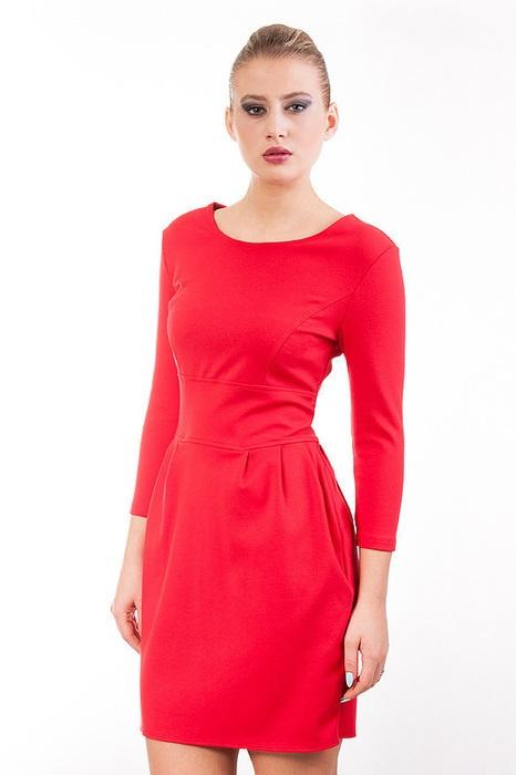 sukienka tulipan kieszenie