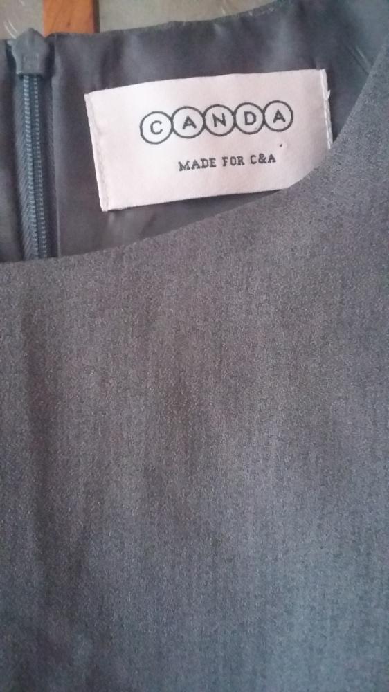 Sukienka szara 38 C&A...