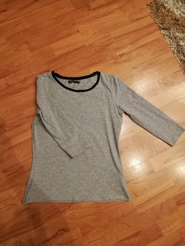 Bazowa bluzka szara Mohito L XL...