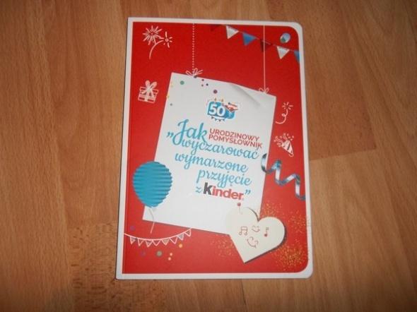 Urodzinowy pomysłownik Kinder