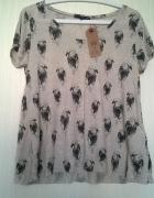 Nowa bluzka w orły Tally Weijl t shirt