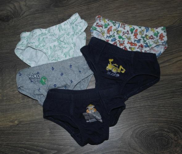 Majteczki dla chłopca slipki 92