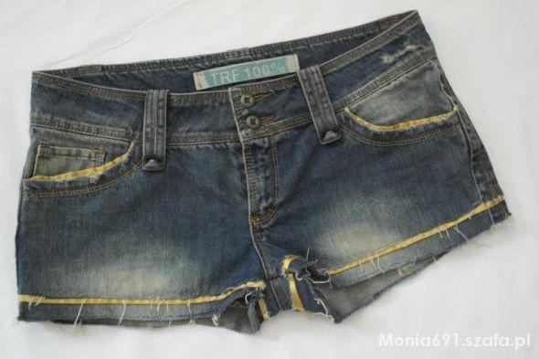 ZARA trf krótkie spodenki jeansowe 42