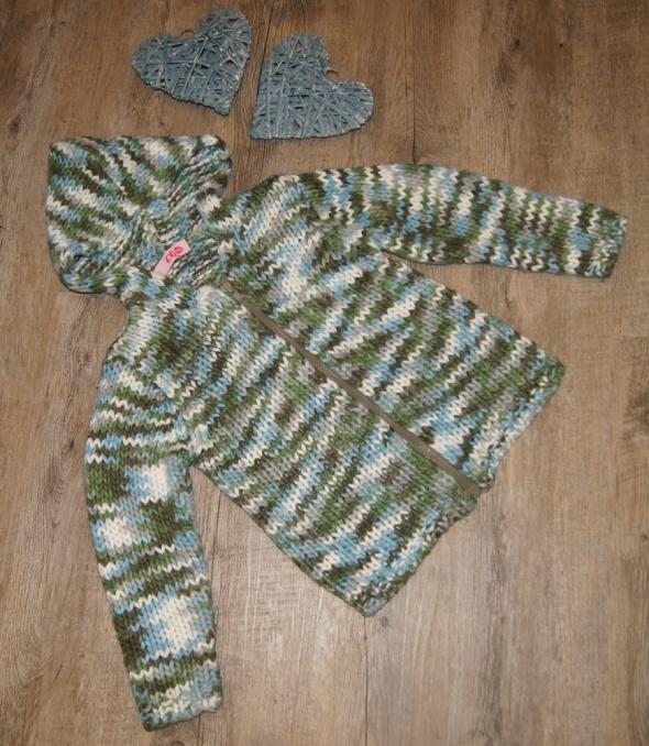 Sweterek sweter pleciony rozm 110