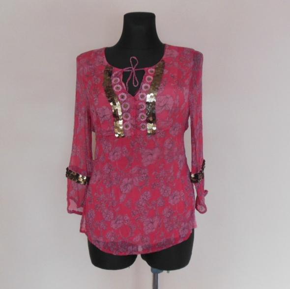 Debenhams różowa bluzka orient 40 42...
