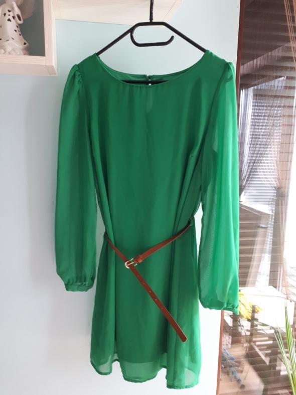 Sukienka atmosphere zielona...