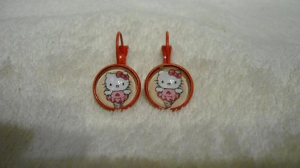 Kolczyki Kolczyki Hello Kitty wybór zapięcia