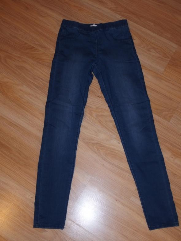 rurki hm jeansy