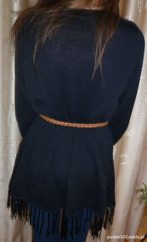 Swetry czarna narzutka