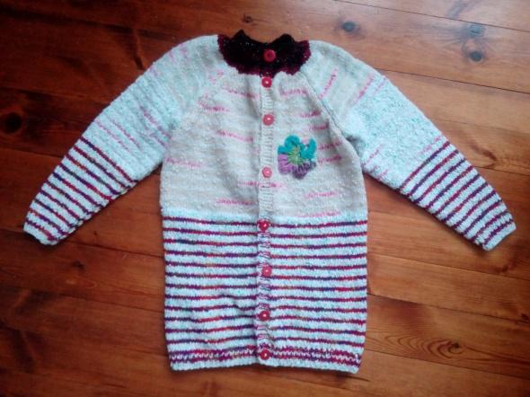 Pozostałe Długi sweter 128 134 cm