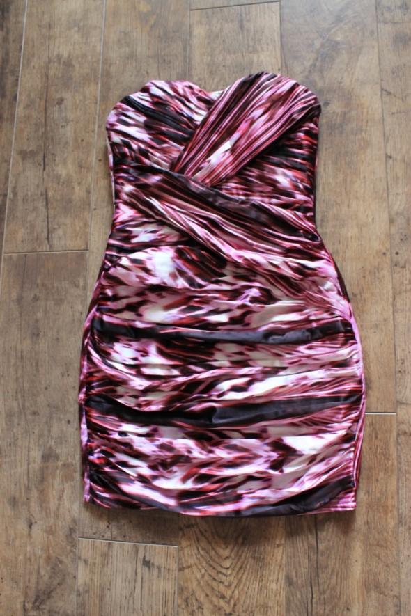 Sukienka Lipsy różowa 36...