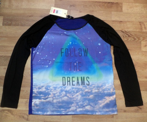 Nowa bluzka Follow the dreams mr gugu
