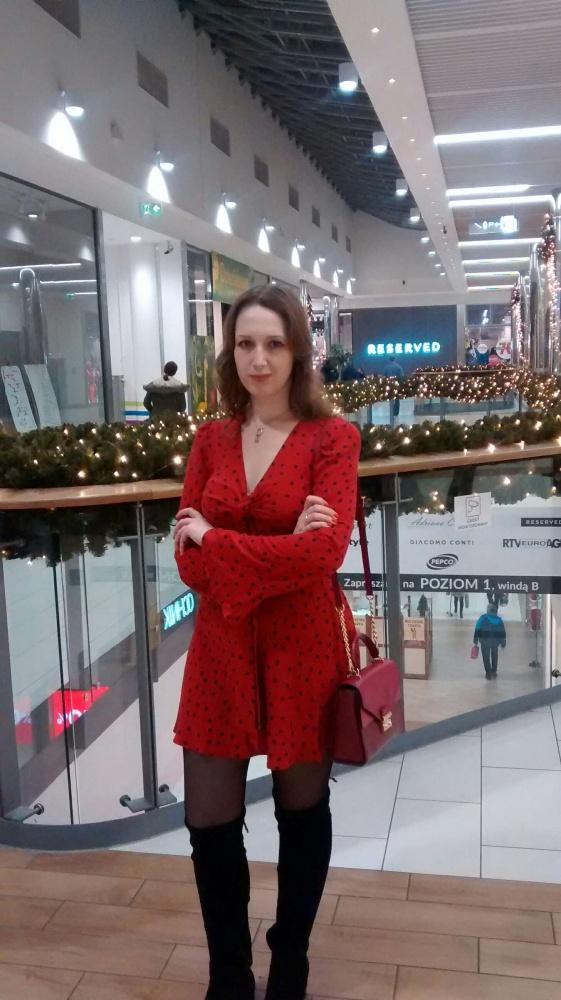 Mój styl Sukieneczka biedroneczka