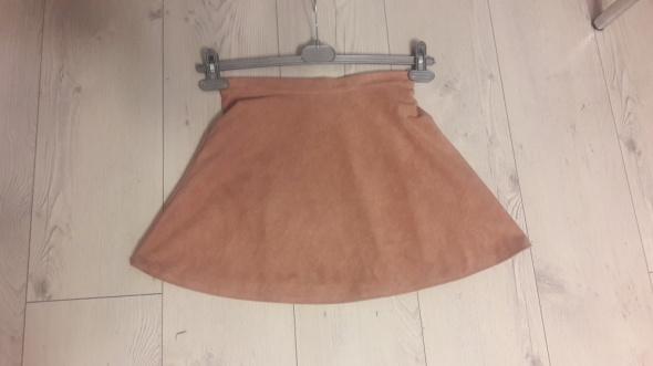 Spódnice zamszowa śliczna sukienka