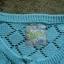 Sweter sweterek 140 146 Mięta