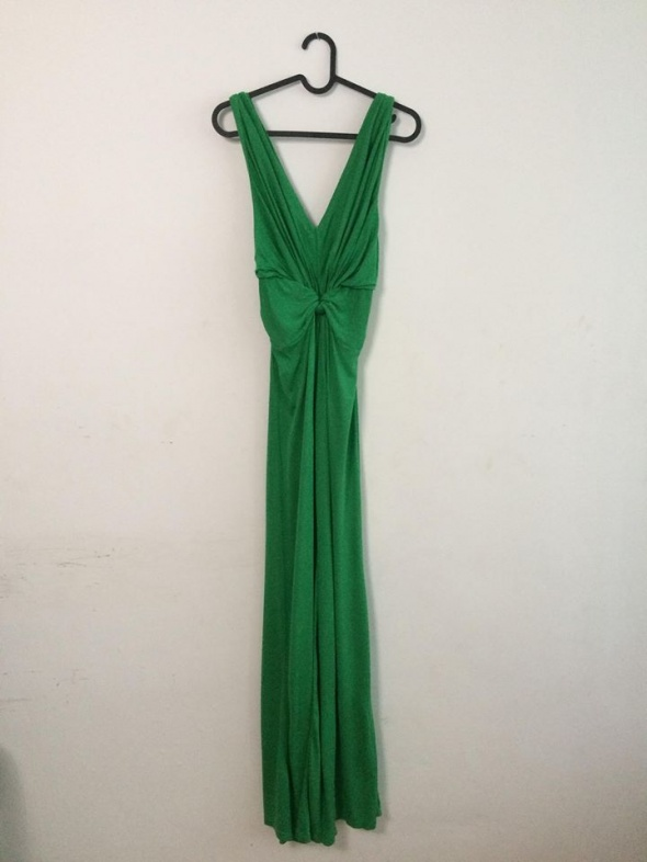 Zielona sukienka MAXI...