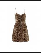 sexy sukienka z zipem z przodu H&M...