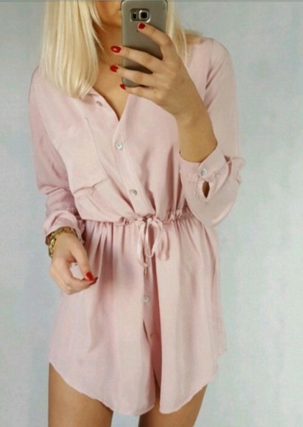 Koszulowa sukienka sowastore