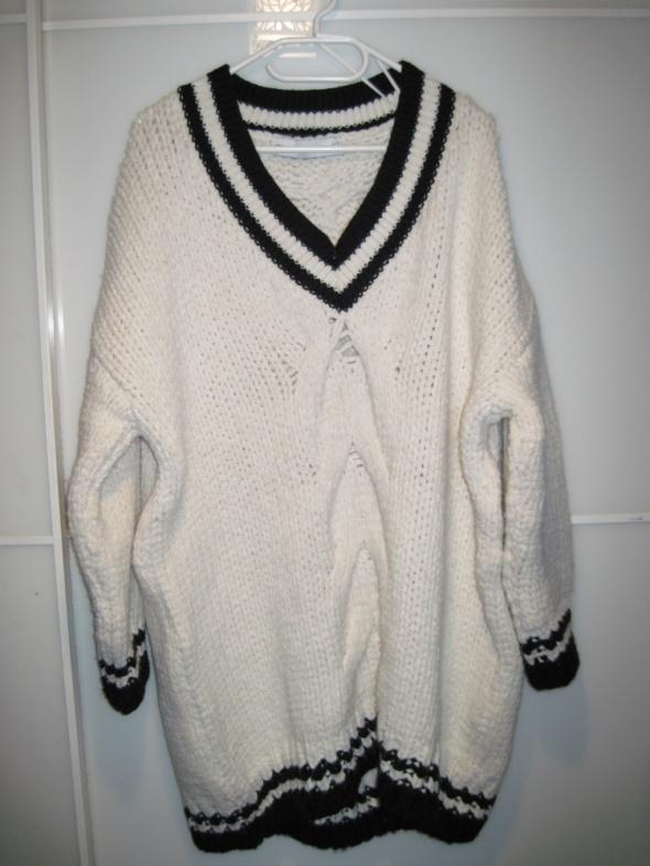 Zara bardzo gruby sweter 38 40