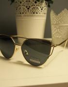 Okulary przeciwsłoneczne damskie lustrzanki HIT