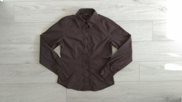 Koszula bluzka z kołnierzem Greenpoint S brązowa...