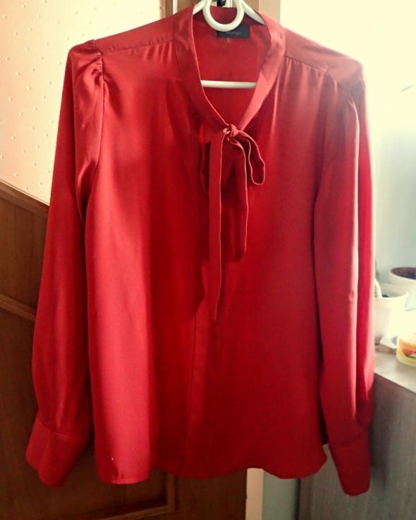 C&A elegancka bluzka wiązany dekolt M L...