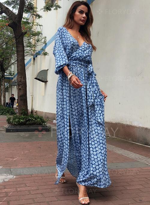 Elegancka sukienka maxi