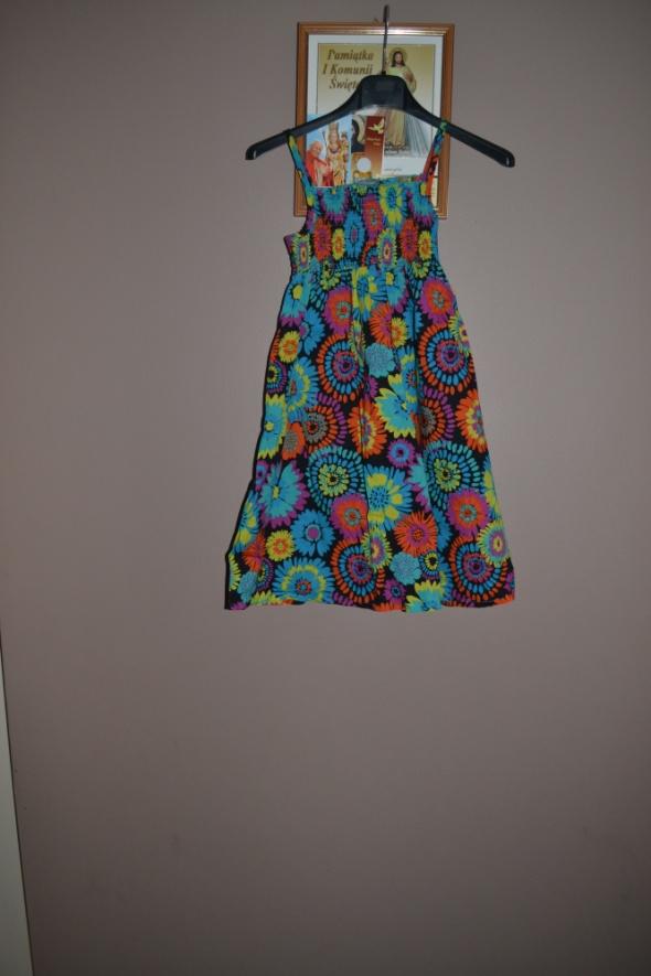 Sukienki i spódniczki Sukienka George 128cm 135cm Kwiaty